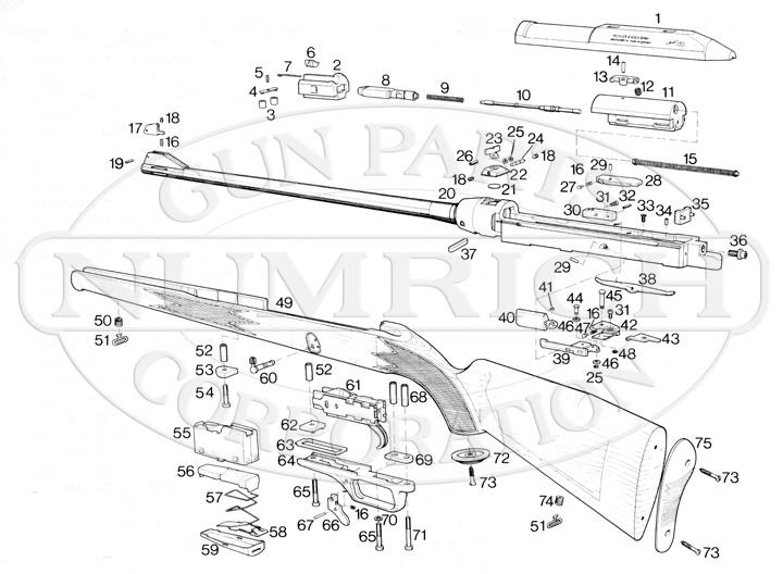 Heckler & Koch Rifles 630 gun schematic