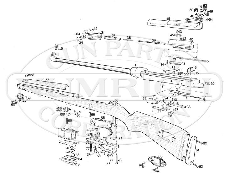 Heckler & Koch SL7 Parts   Numrich Gun Parts