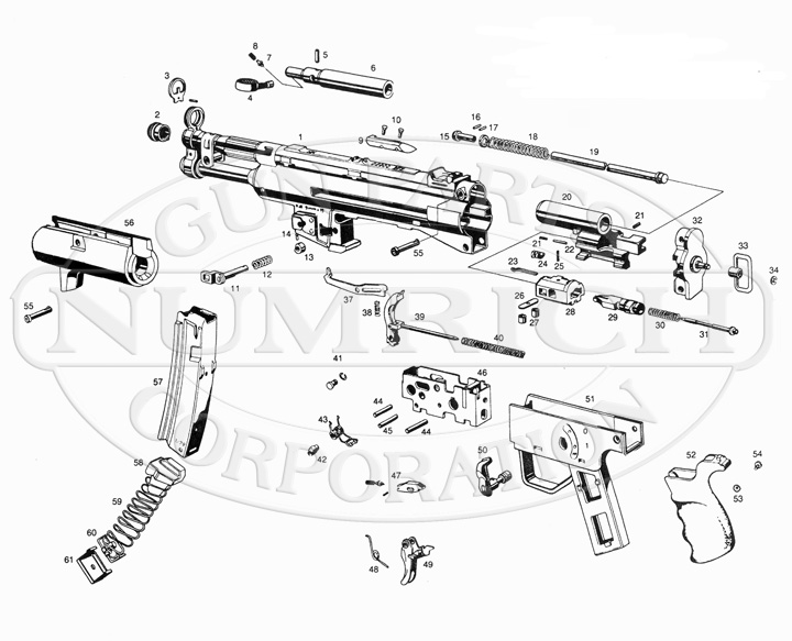 Heckler  U0026 Koch Sp89 Parts