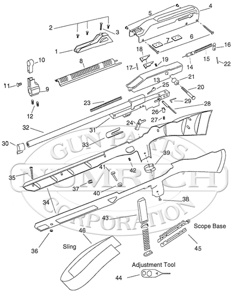 995 carbine schematic
