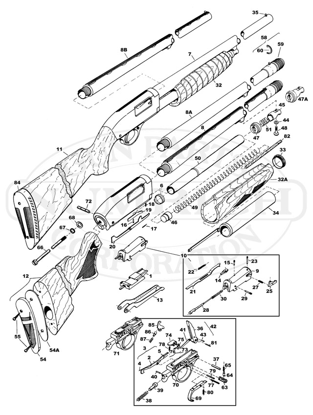 Gun Drawings Schematics