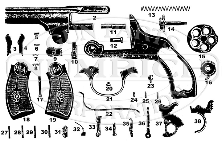 Safety Police Small Frame Schematic Numrich