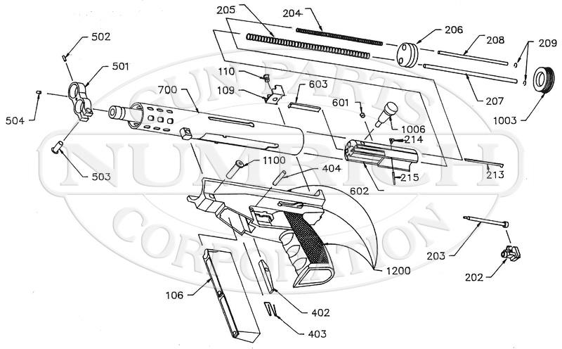 Intratec AP9 (AA Arms) gun schematic