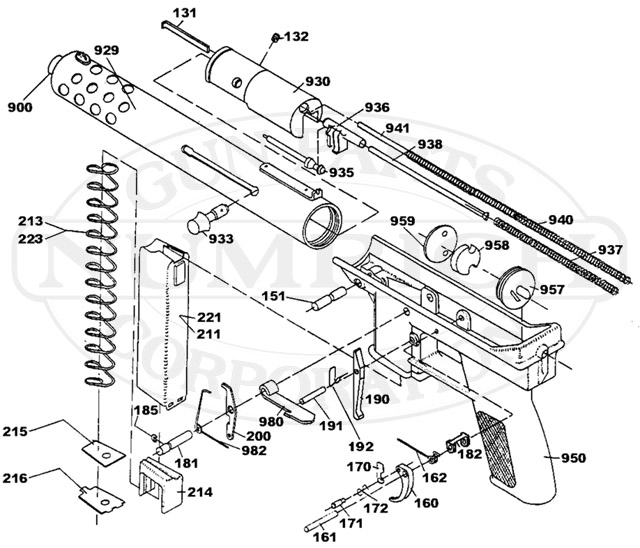 Intratec Tec-9 gun schematic