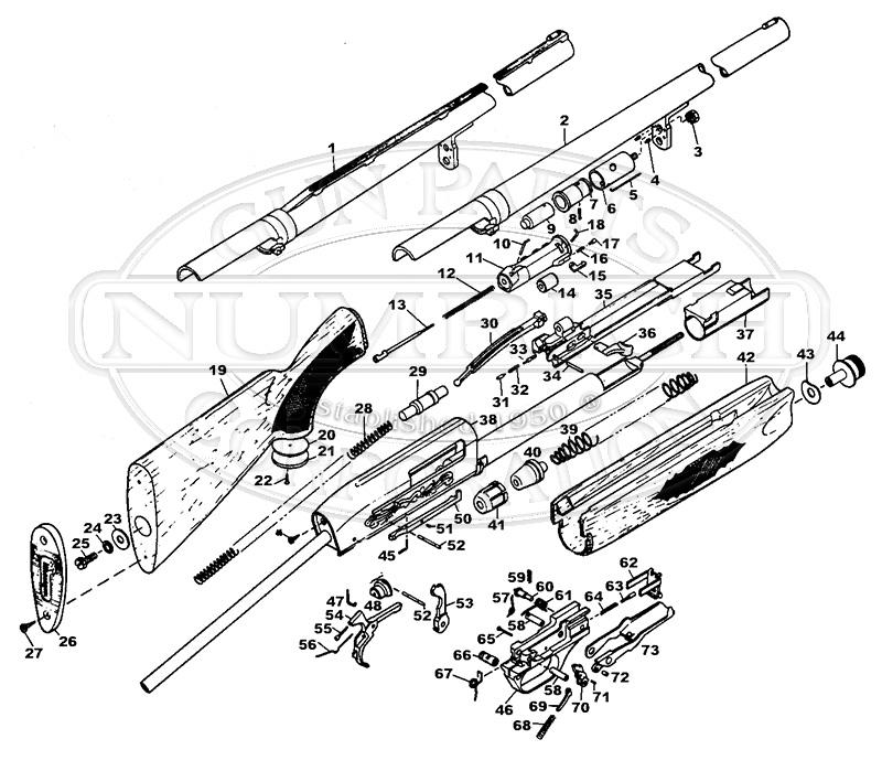 Ithaca 51 Featherlight Parts