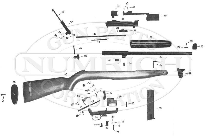 Carbine Schematic | Numrich on