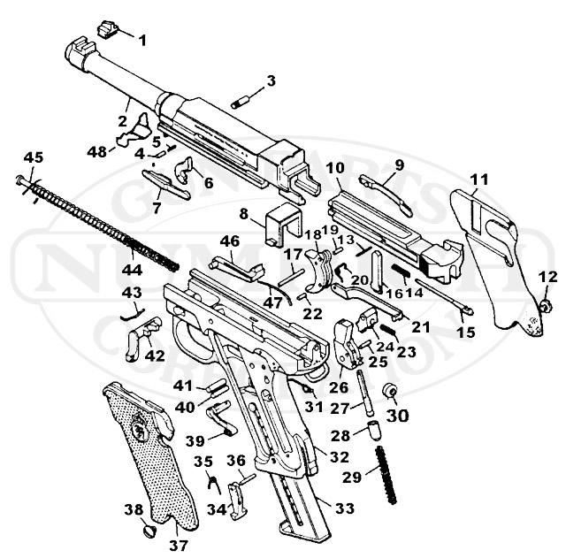 Lahti M-40 gun schematic