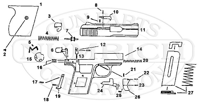 Lorcin L25 gun schematic