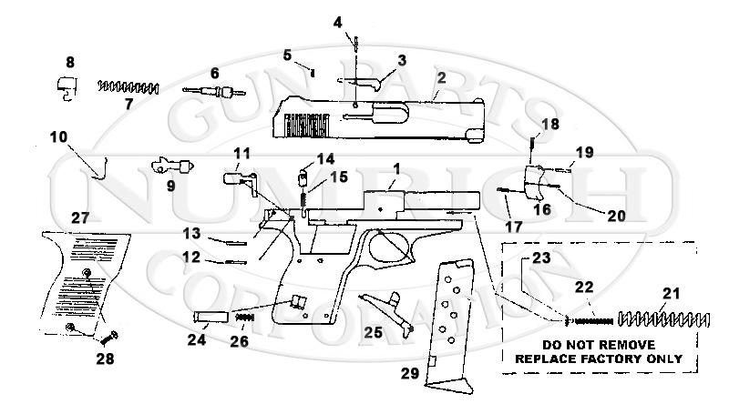 Lorcin L32 gun schematic