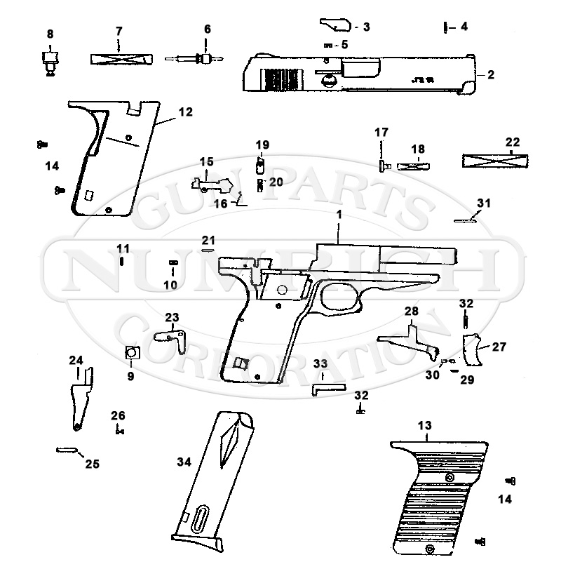9mm Assembly Diagram Enthusiast Wiring Diagrams