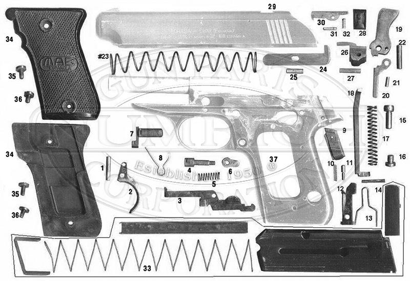 MAB Echasa GZ gun schematic