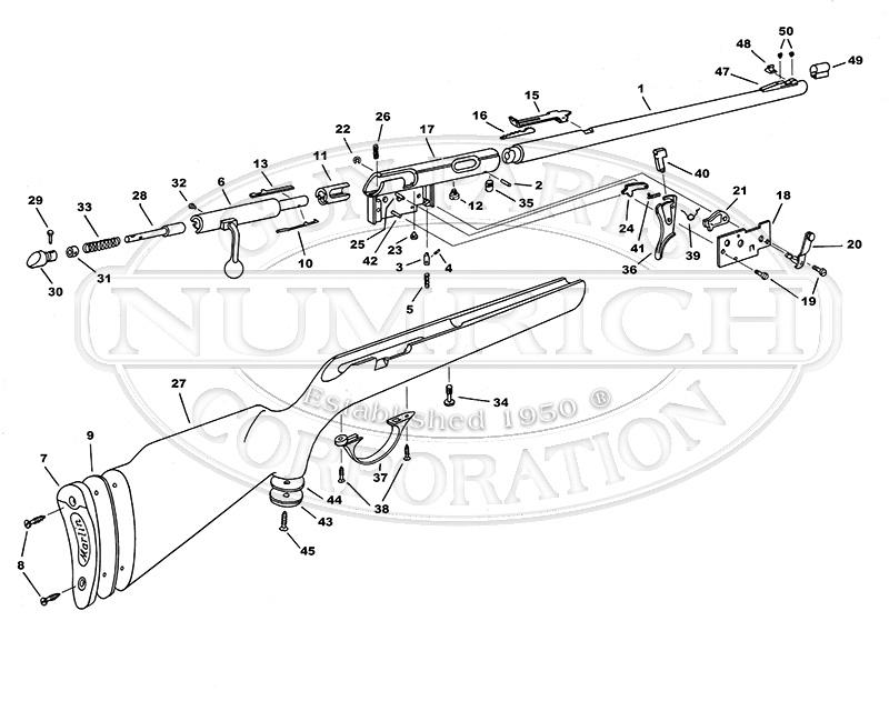 Western Auto Shotguns 103.740 gun schematic