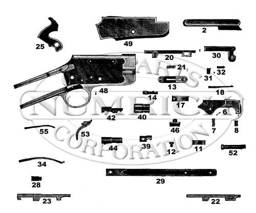 Marlin/Glenfield Rifles 25S gun schematic