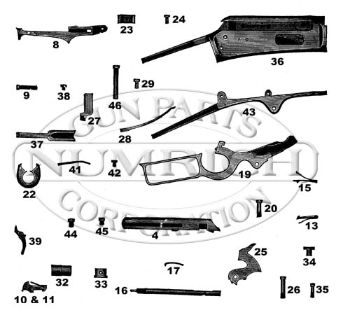 Marlin model 1893 schematic wire center 1893 early model schematic numrich rh gunpartscorp com marlin model 60 parts diagram marlin safety model 1893 30 30 schematic ccuart Gallery
