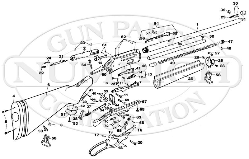 Marlin Model 336 Parts Diagram Marlin Free Engine Image