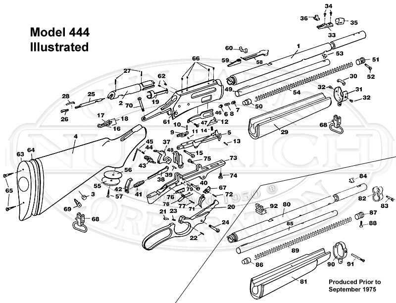 marlin 444 parts diagram