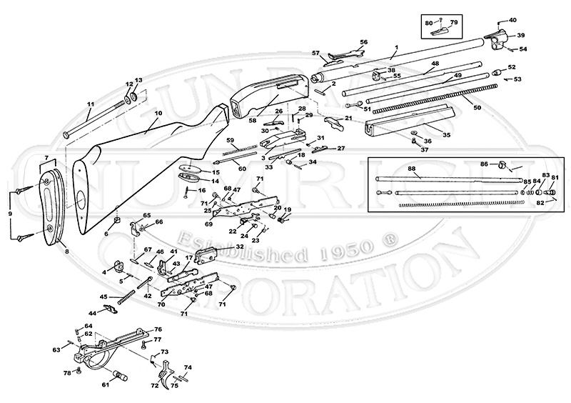 k31 parts diagram ford f 150 parts diagram 49 rifle schematic | numrich #10
