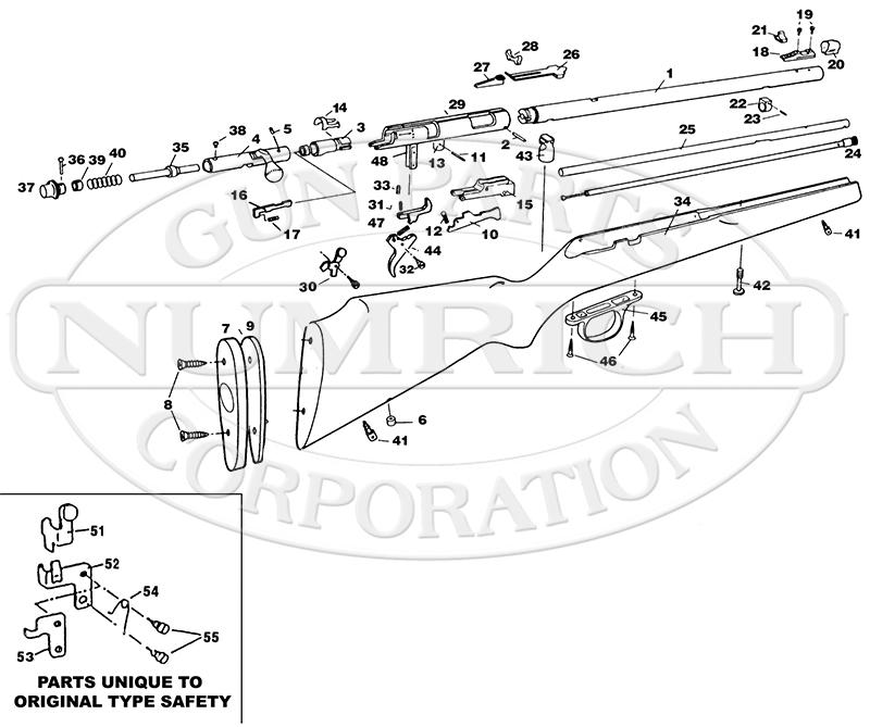 Marlin/Glenfield Rifles 883 gun schematic