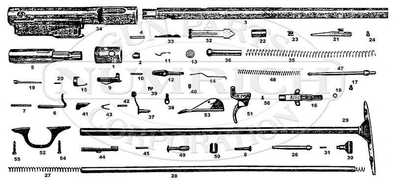 Marlin/Glenfield Rifles 88 gun schematic