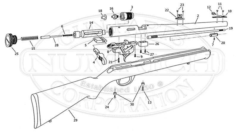 Marlin/Glenfield Model MLS-50 Parts | Numrich Gun Parts
