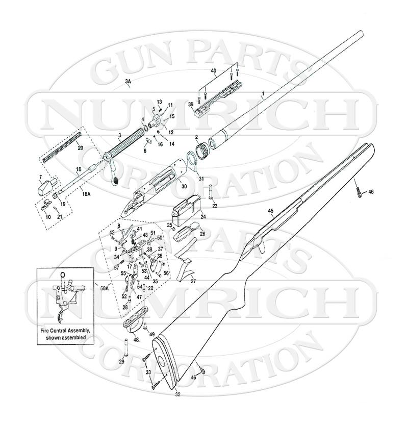 marlin glenfield model 70 parts diagram