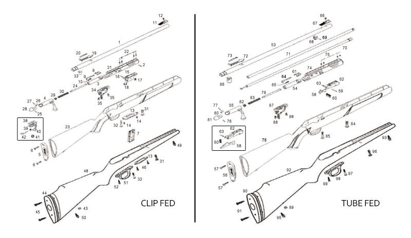Marlin 880 rifle parts diagram of circuit connection diagram xt 22 schematic numrich rh gunpartscorp com marlin model 60 rifle parts marlin rifle schematics ccuart Gallery