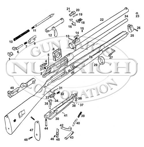 Mauser Rifles T88 Chinese gun schematic