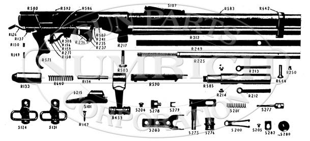 Mossberg Rifles 146B gun schematic