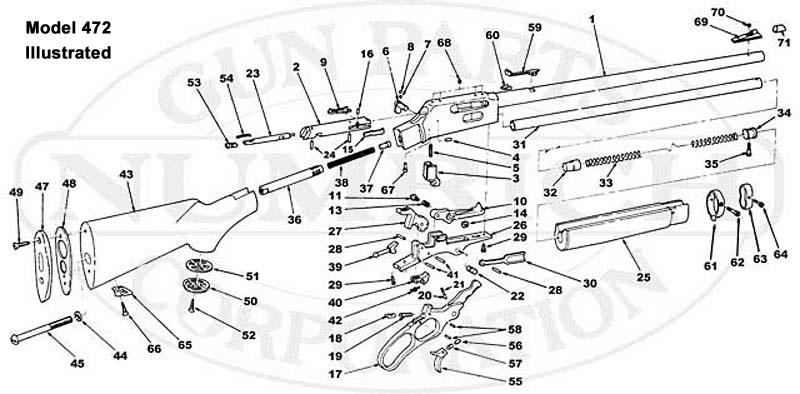 30 30 marlin breakdown diagram electrical work wiring diagram 472pca schematic numrich rh gunpartscorp com marlin model 81 exploded view marlin model 60 assembly diagram ccuart Gallery