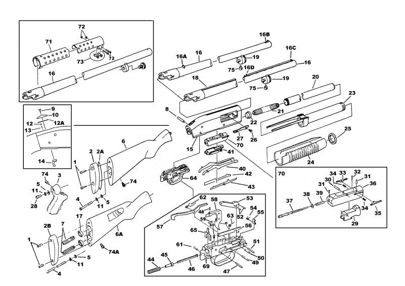 mossberg 500 parts diagram