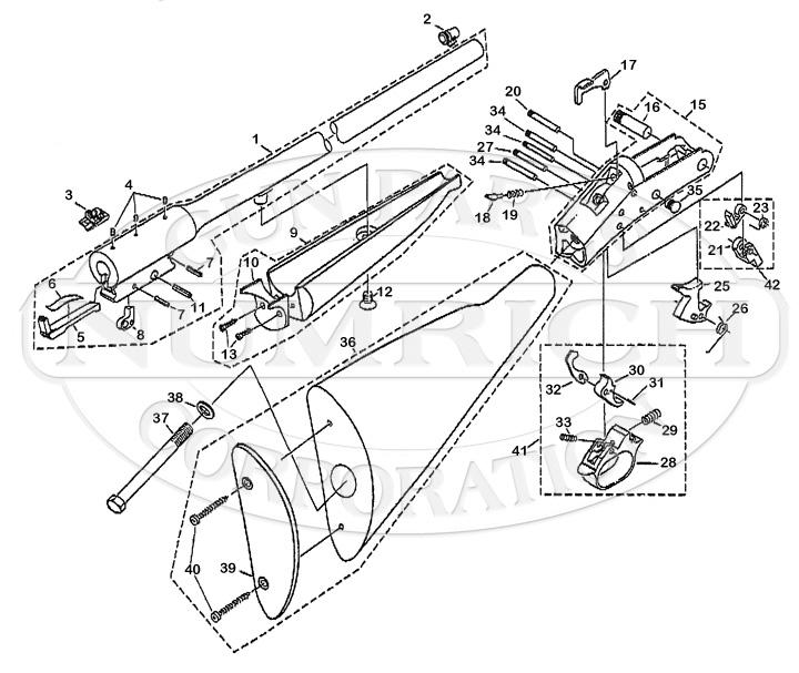 Buffalo Clic Rifle Schematic | Numrich