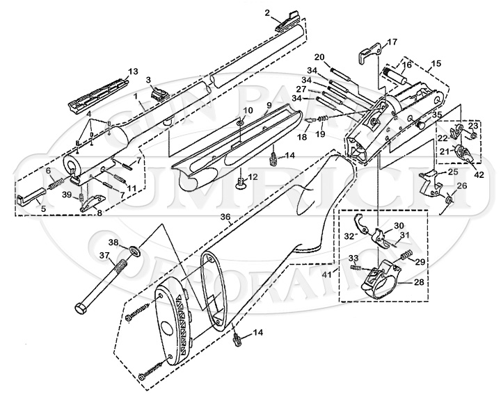 Sportster Rifle Schematic