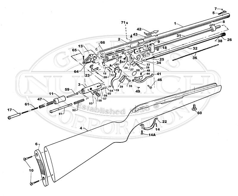 Noble Rifles 285 gun schematic