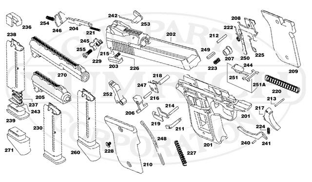 magazine parts diagram