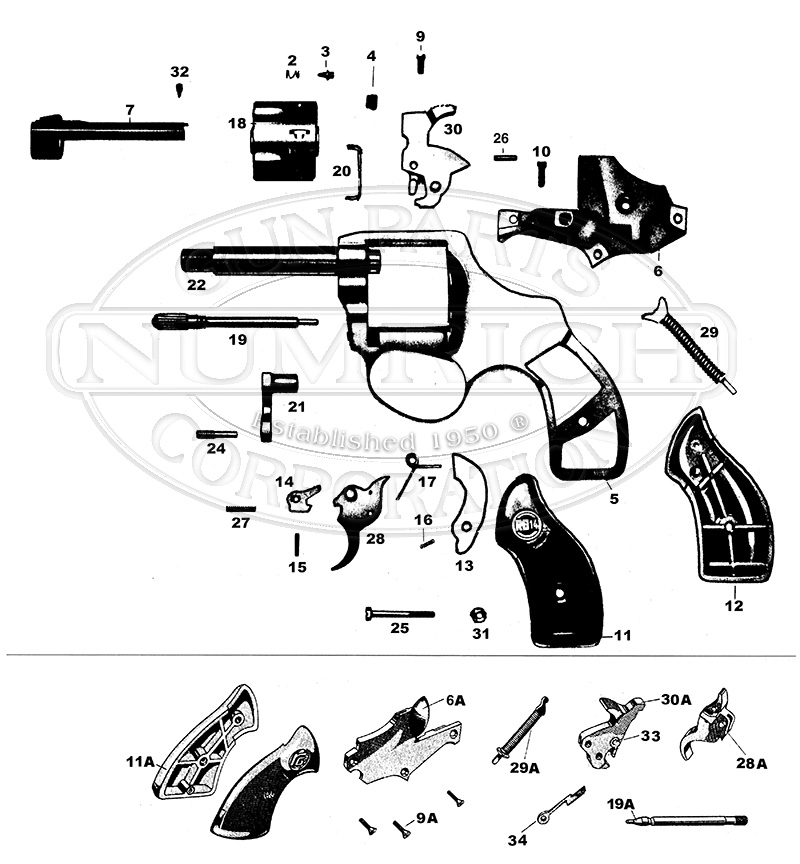 14 Schematic   NumrichNumrich Gun Parts