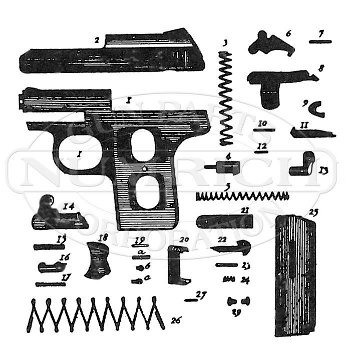 Reck P8 gun schematic