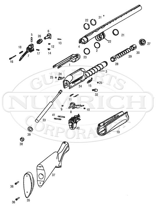 Remington 105CTi Shotgun Parts | Numrich Gun Parts