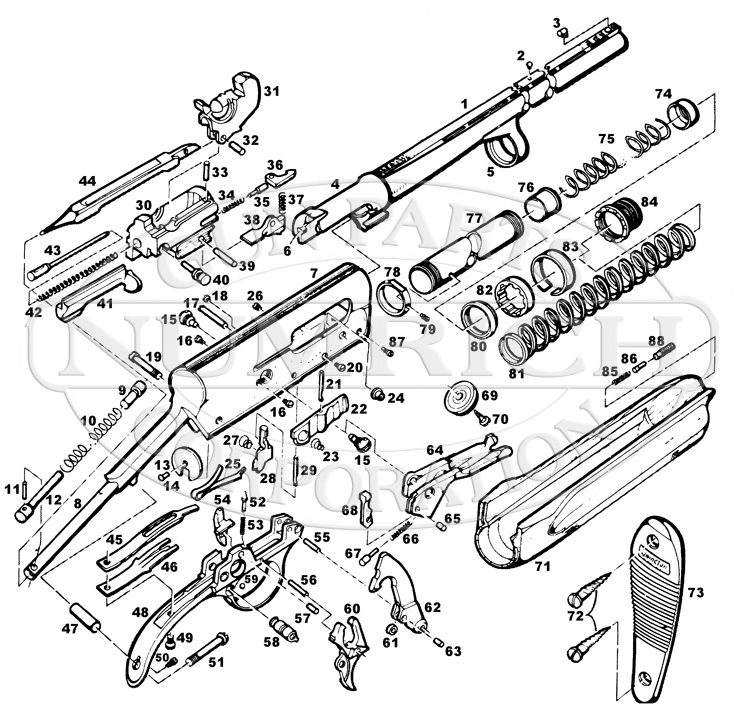 Remington Model 11 Parts For Sale