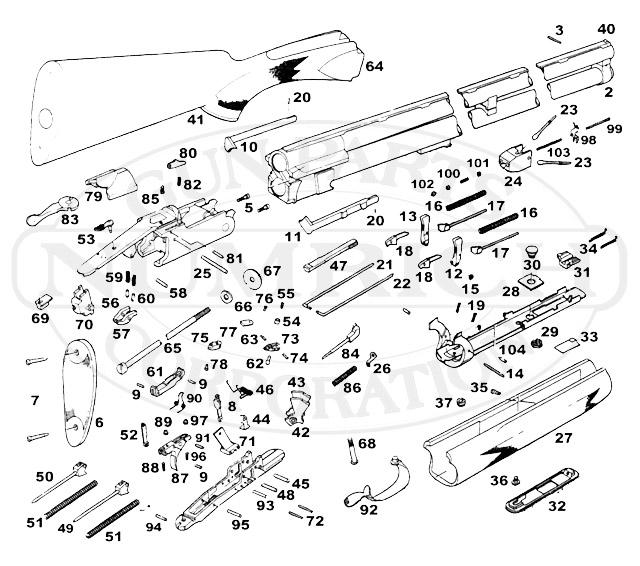 remington shotgun parts