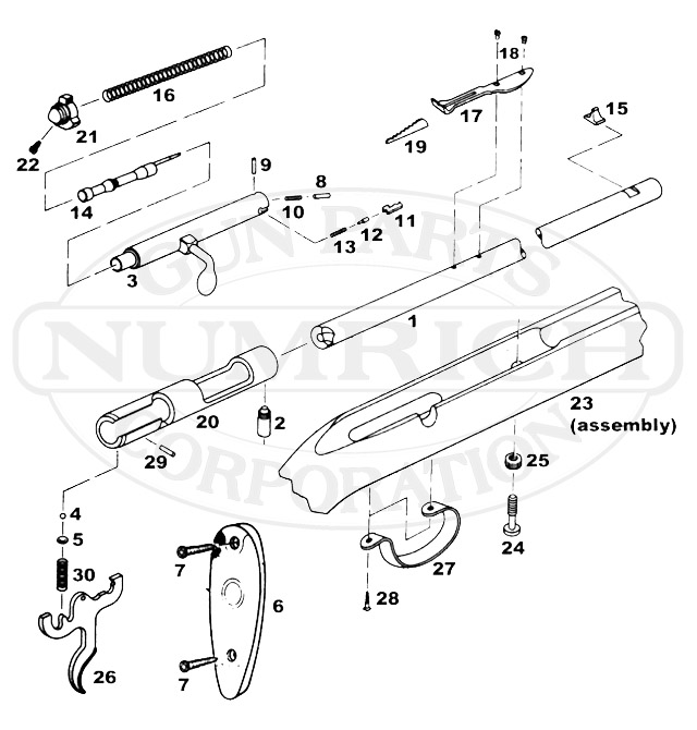 Remington 514 Rifle Parts