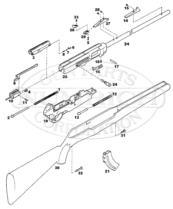 Remington 522 Viper Parts And Schematic