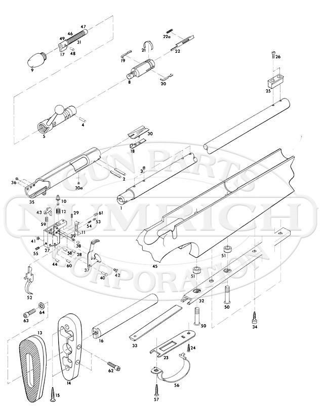 Remington 540xr Rifle Parts