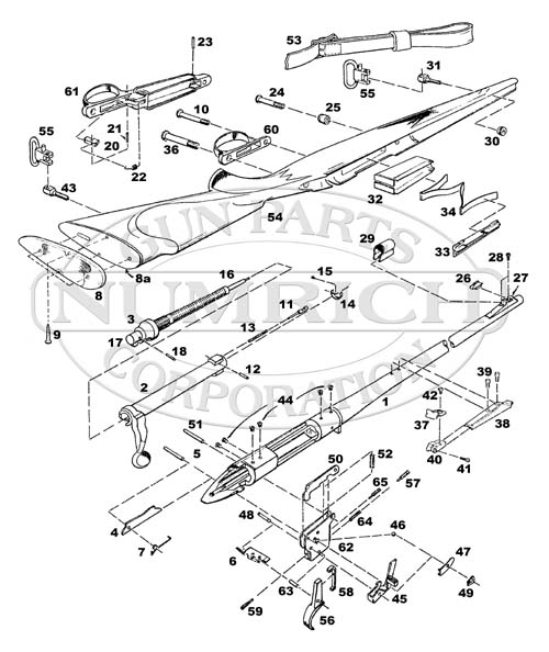 remington 700 parts list schematic