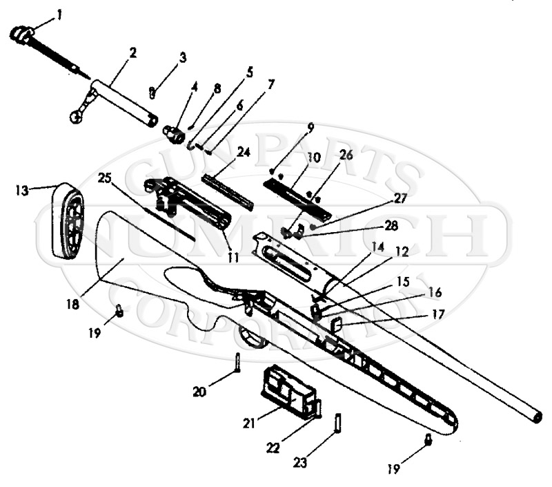 Remington 770 Replacet Parts and Schematics