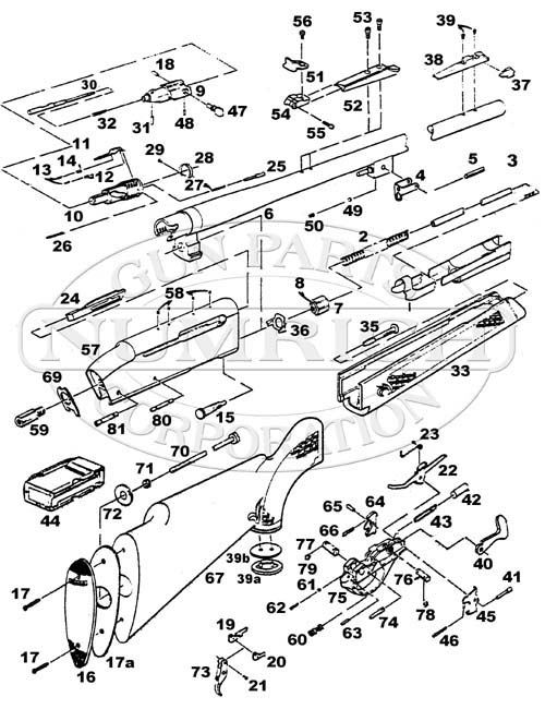 Remington 742 Parts And Schematic