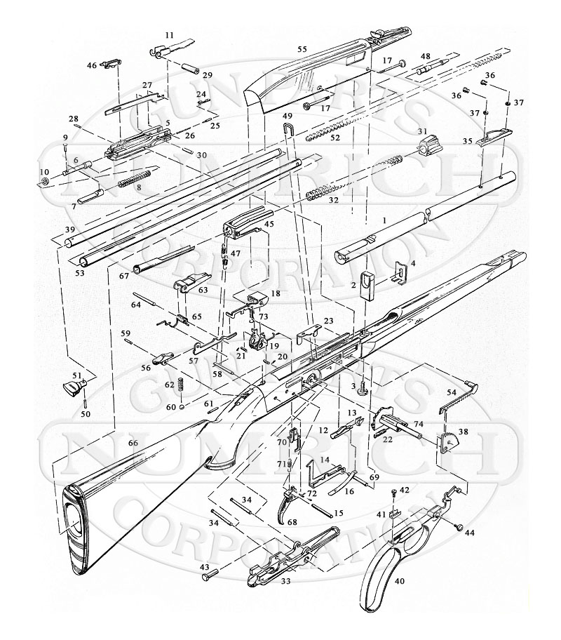 Remington 511 Assembly Diagram