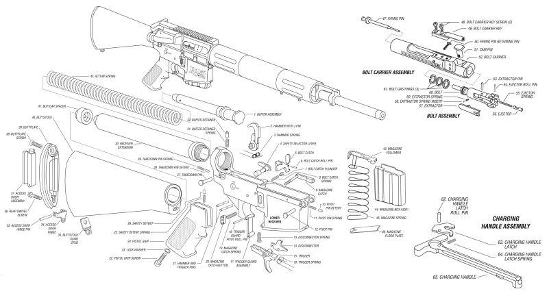 Remington R15 Parts