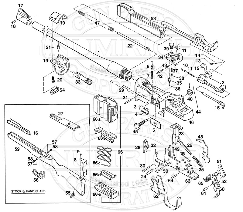 Ruger Mini 14 Schematic