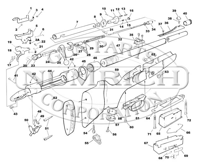 Remington 870 Schematic Numrich Wiring Diagram For Professional