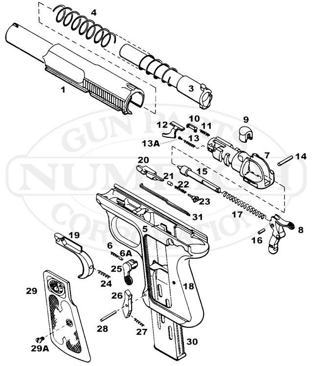 M1917 Parts Diagram
